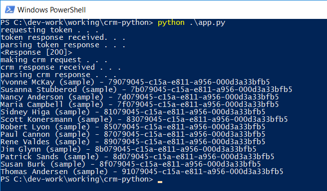 An Azure AD OAuth 2 helper microservice